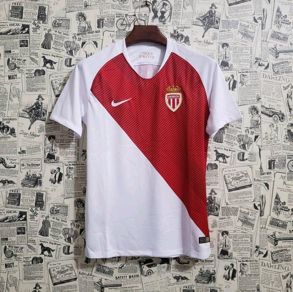 Camisa Mônaco Home 18 19 Torcedor Masculina. 0% OFF 84cbb2de9d877