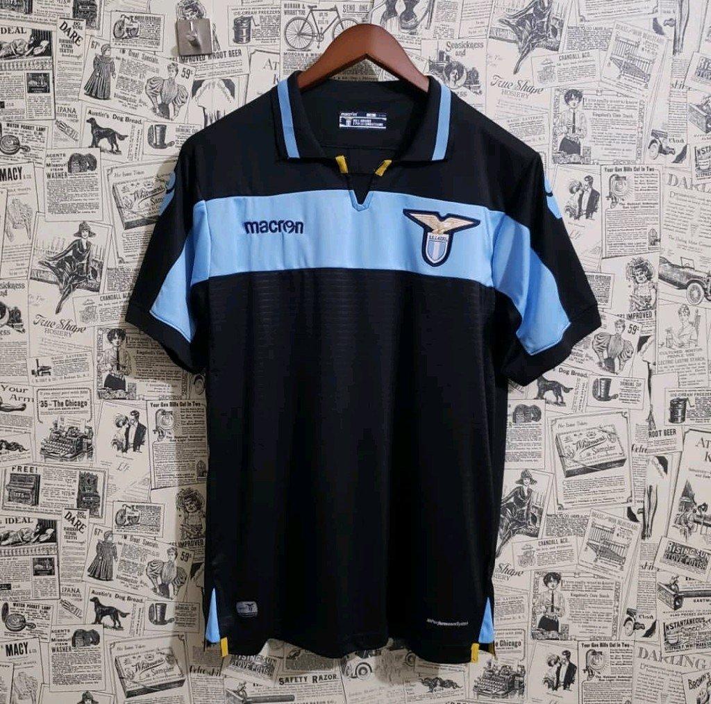 Camisa Lazio Third 18 19 Torcedor Masculina cba8e0199869e