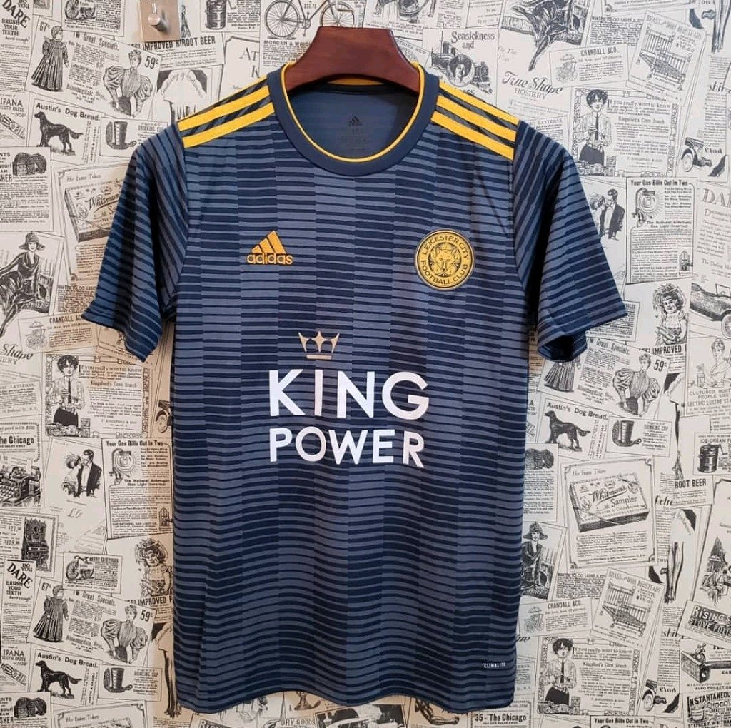 Camisa Leicester Away 18 19 Torcedor Masculina. 0% OFF 17326da455f01