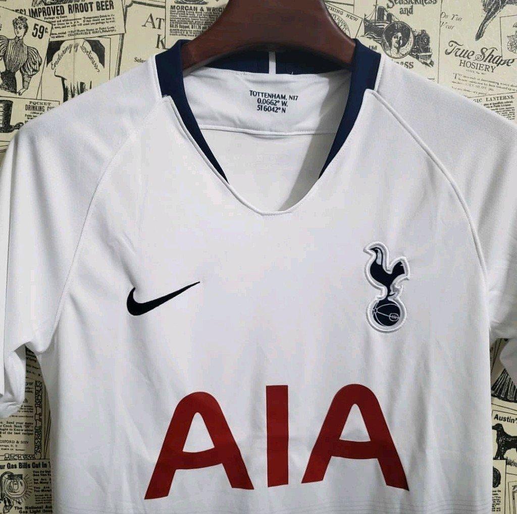 Camisa Tottenham Home 18 19 Torcedor Masculina. 0% OFF. 1 e3eff07c81955
