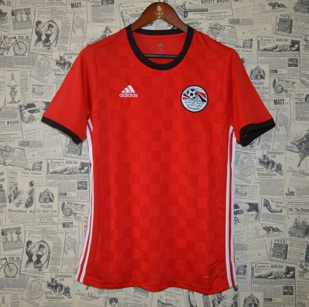 Camisa Egito Home 18 19 Torcedor Masculina c194b901c232f