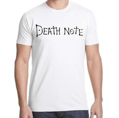 Remera Death Note en internet