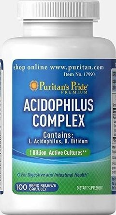 Probiotico Acidophilus Sin Tacc 1 Billion 2 Cepas