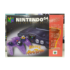 CONSOLE NINTENDO 64 ATOMIC PURPLE