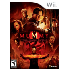 THE MUMMY TOMB OF THE DRAGON EMPEROR - WII