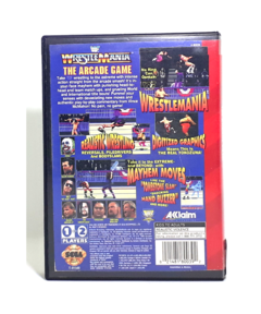 WRESTLEMANIA THE ARCADE GAME na internet