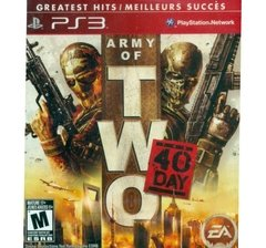 ARMY OF TWO 40 DAY - SEMINOVO
