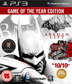 BATMAN ARKHAM CITY GOTY - SEMINOVO