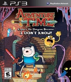 ADVENTURE TIME EXPLORE THE DUNGEON - SEMINOVO