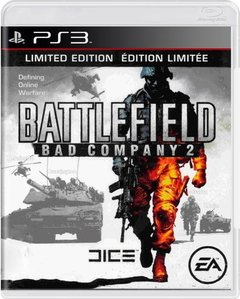 BATTLEFIELD BAD COMPANY 2 LIMITED EDITION - SEMINOVO