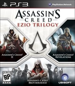ASSASSINS CREED EZIO TRILOGY - SEMINOVO