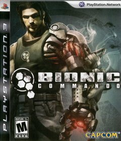 BIONIC COMMANDO - SEMINOVO