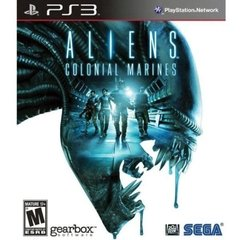 ALIENS COLONIAL MARINES - SEMINOVO