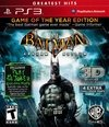 BATMAN ARKHAM ASYLUM GAME OF THE YEAR HOLOGRÁFICO - SEMINOVO