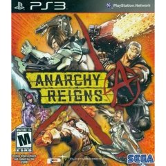 ANARCHY REIGNS - SEMINOVO