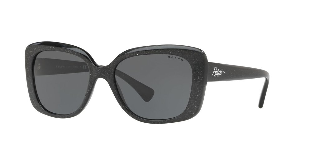 760bca01bf Lentes Ralph Lauren RA5241 Shiny Black Glitter