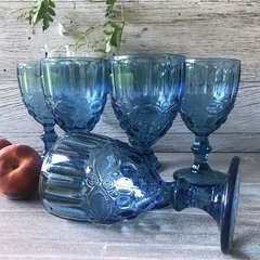 Set de Copas Estambul Azul