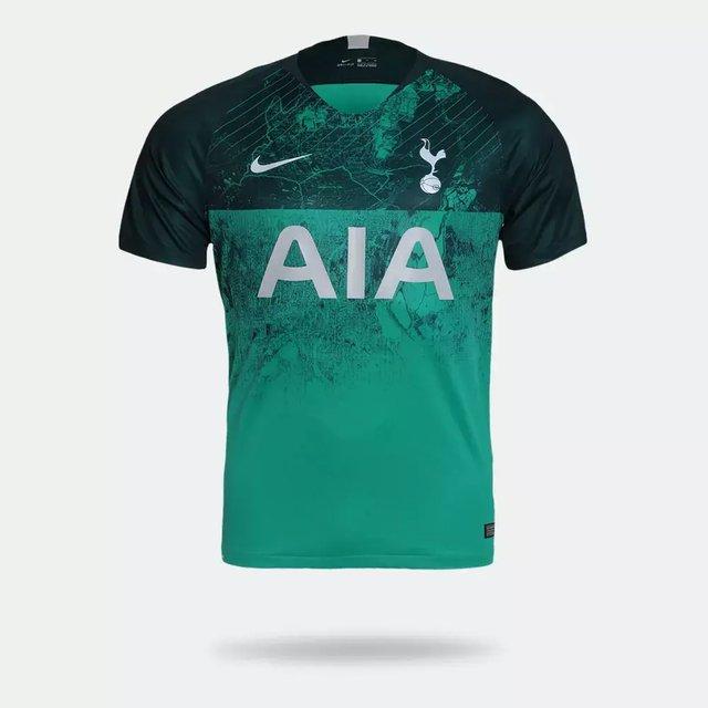 Mecánica compromiso formato  Camisa Tottenham Third 18/19 Torcedor Nike Masculina - Verde