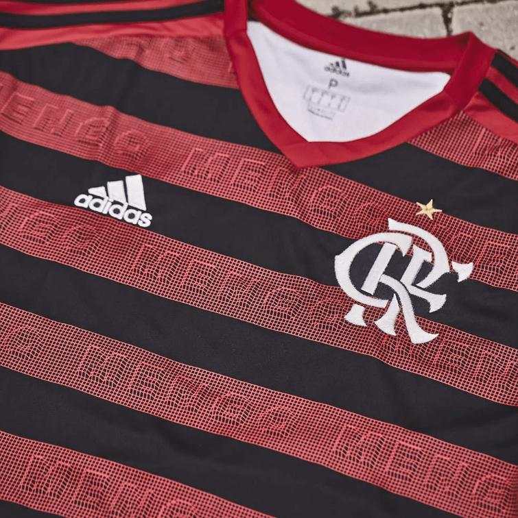 df596016bd Camisa Flamengo I 2019 Torcedor Masculina - Vermelho e Preto