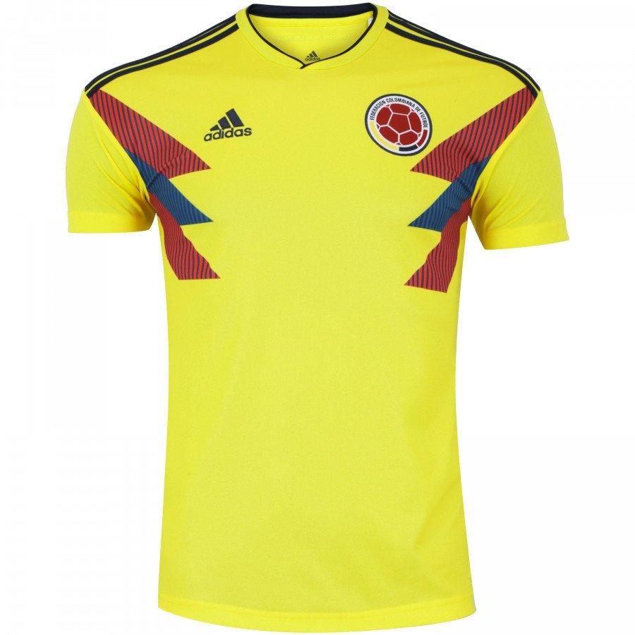 4cdfdb30b Camisa Seleção Colômbia Home 2018 Torcedor Masculina - Amarela