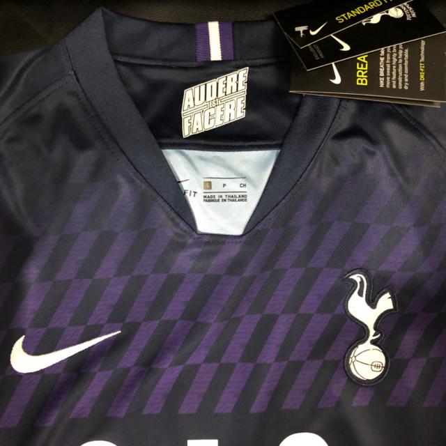 Camisa Tottenham Away 19 20 Masculina Nike Torcedor Azul Escuro