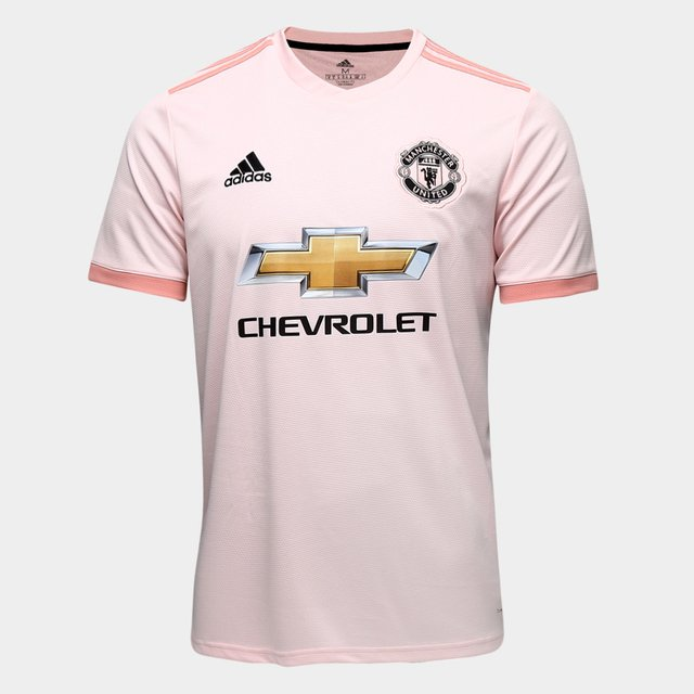 camisa manchester united away 2018 torcedor adidas masculina rose futebox store