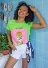 T-shirt Estampada Tigre