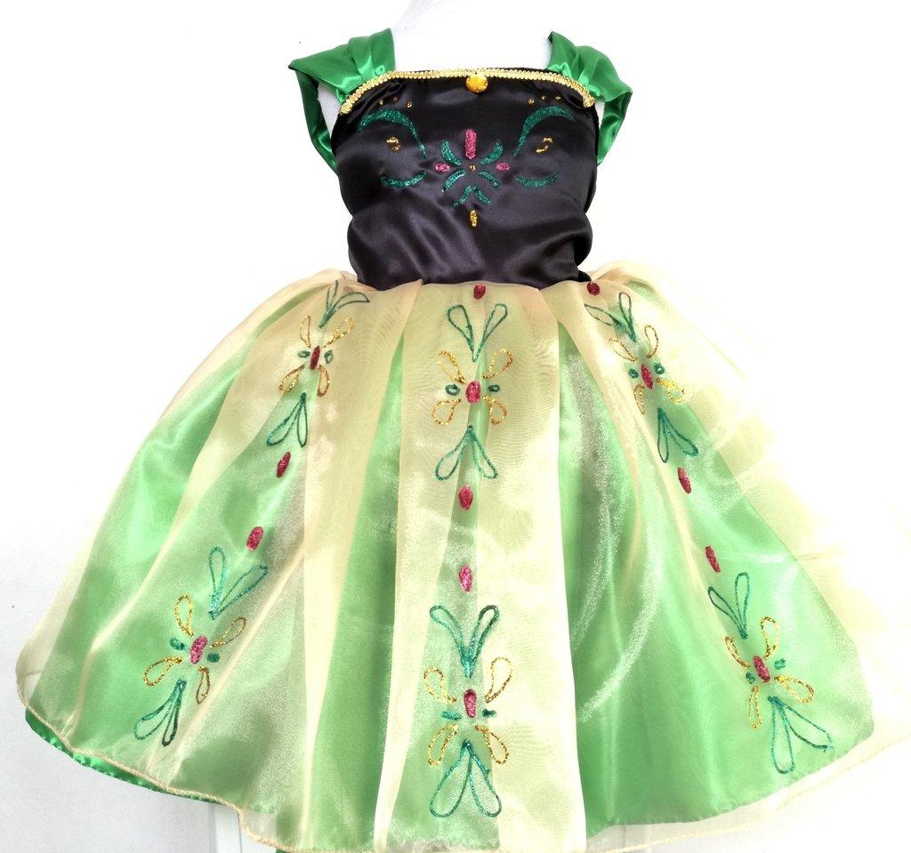 Vestido Anna Frozen Comprar En Vestiteconmagia