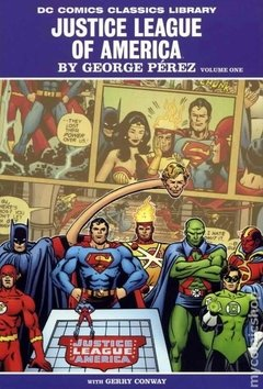 Justice League of America HC (2009 DC Comics Classic Library) By George Perez