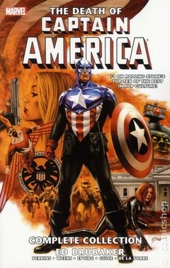 Captain America The Death of Captain America TPB (2013 Marvel) The Complete Collection