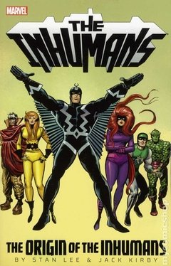 Inhumans The Origin of the Inhumans TPB (2013 Marvel) By Stan Lee and Jack Kirby #1-1ST