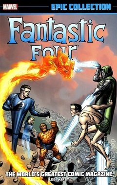 Fantastic Four The World's Greatest Comic Magazine TPB (2014 Marvel) Epic Collection #1-1ST