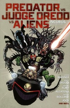 Predator vs. Judge Dredd vs. Aliens HC (2014 Dark Horse) #1-1ST