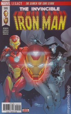 Invincible Iron Man (2017 4th Series) #595