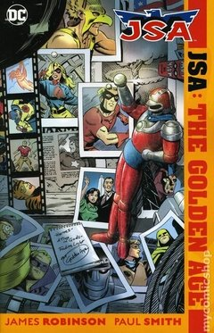 JSA The Golden Age TPB (2018 DC)