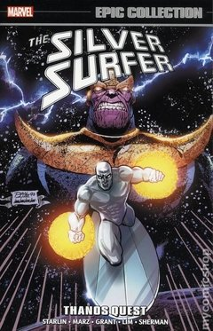 Silver Surfer Thanos Quest TPB (2018 Marvel) Epic Collection #1-1ST