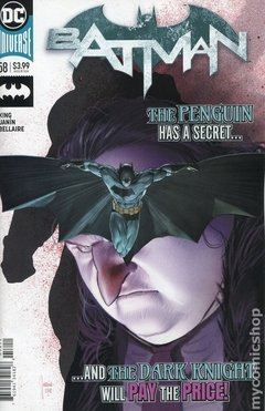 Batman (2016 3rd Series) #58A