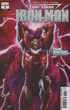 Tony Stark Iron Man (2018) #6A