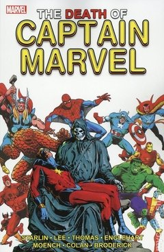Death of Captain Marvel TPB (2019 Marvel)