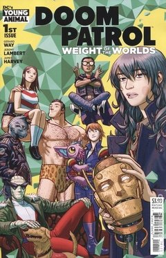 Doom Patrol The Weight of the Worlds (2019) #1A