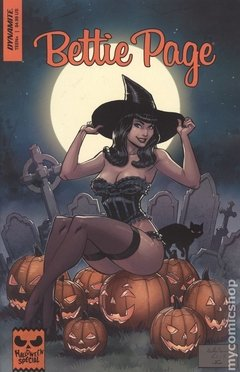 Bettie Page Halloween Special (2019 Dynamite) #0B