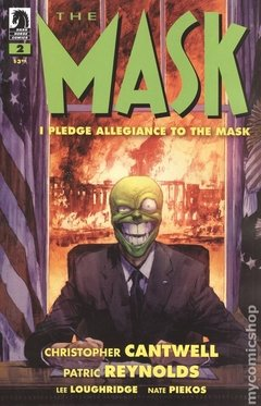 Mask I Pledge Allegiance To The Mask (2019 Dark Horse) #2A