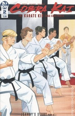 Cobra Kai The Karate Kid Saga Continues (2019 IDW) #2A