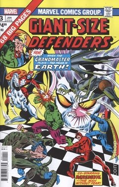 Giant-Size Defenders Facsimile Edition (2019 Marvel) #3