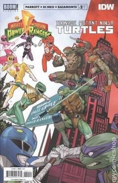Power Rangers Teenage Mutant Ninja Turtles (2019 Boom) #2A
