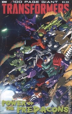 Transformers 100 Page Giant Power Predacons (2020 IDW) #0