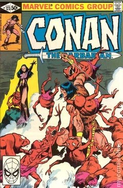 Conan the Barbarian (1970 Marvel) #123