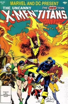 Marvel and DC Present the X-Men and the Teen Titans (1982) #1
