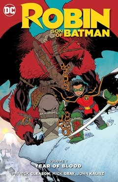 Robin: Son of Batman Vol. 1: Year of Blood Paperback