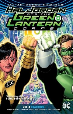 Hal Jordan and the Green Lantern Corps Vol. 4: Fracture (Rebirth) Paperback